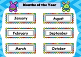 Months of the year - Bunny Theme