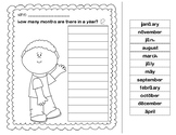 Months of the year with funny print (Direct Instruction)