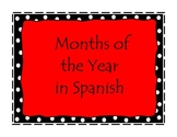 Months of the year in Spanish/Meses del a