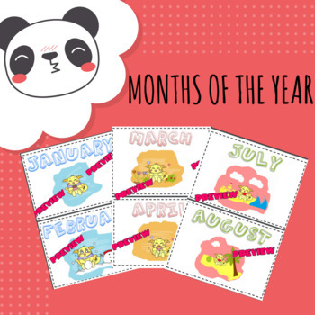 Months of the year (with pictures)
