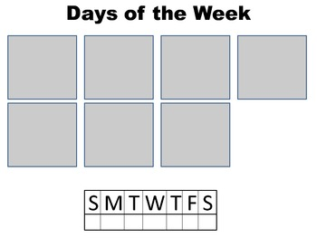 Months vs Days: Sorting Activity, Word Bank, Visual Support