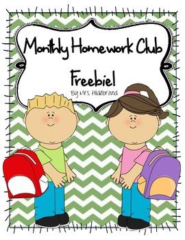 Monthy Homework Club Sampler