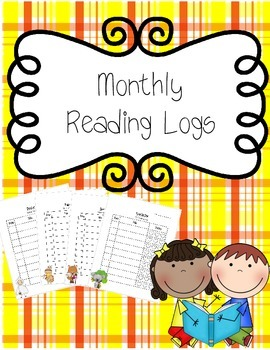 Monthy Reading Logs