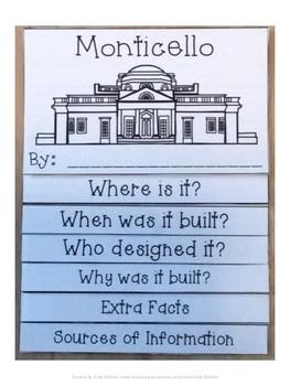 Monticello (Virginia) Flip Book