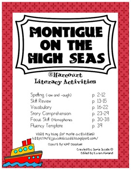 Montigue on the High Seas (Harcourt)