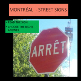What do these Montreal signs mean? French - Beginners 1 and 2