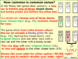 Monty Hall Common Sense: maybe slow down your fast-thinking and do the math