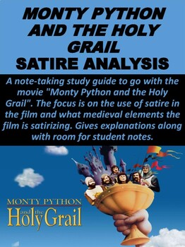 Monty Python And The Holy Grail Satire Analysis By Mz S English