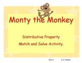 Monty the Monkey Distributive Property