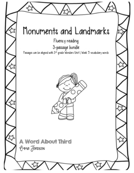 Monuments and Landmarks Fluency Reading Passages