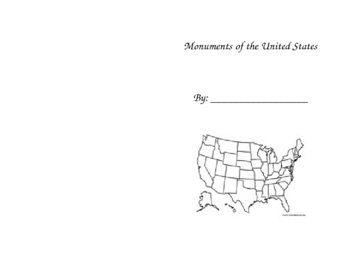 Monuments of the United States Book