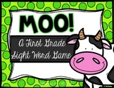 Moo! A First Grade Sight Word Game