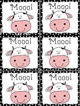 Moo! OO Word Games