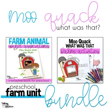 Moo Quack Farm Unit Bundle
