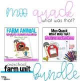 Farm Unit Interactive Book and Activities Bundle