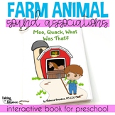 Moo Quack What Was That? Interactive Preschool Book