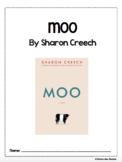 Moo by Sharon Creech Novel Packet