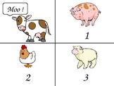 Moo! number game