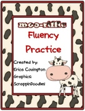 Moo-riffic Fluency Practice
