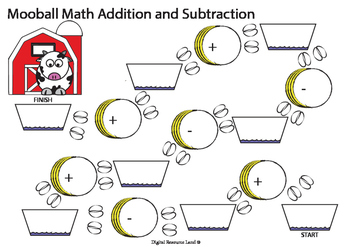 Mooball Math Addition and Subtraction