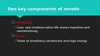 Mood Disorders: Crossing the Line