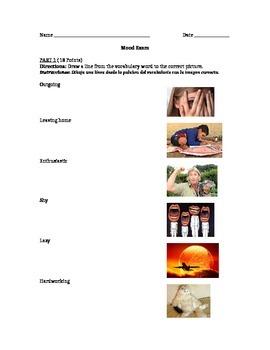 Mood Exam & Reflection (Lesson 7)