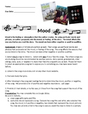 Mood Literature Mood in Music Project Postive Negative Mood Author Sets Mood
