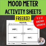 Mood Meter Activity Sheets