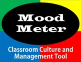 Mood Meter Clip Chart for Classroom Culture and Management