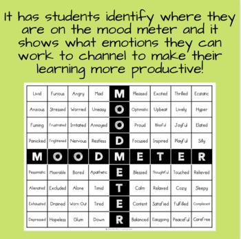Mood Meter - Social-Emotional Regulation