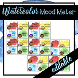 Mood Meter- Watercolor