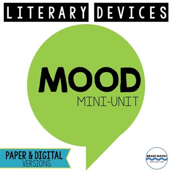 Mood Mini-Unit - 3 Fun and Engaging Mood Lessons!