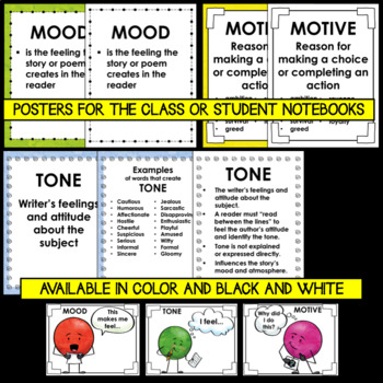 Mood, Motive, and Tone