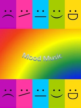 Mood Music Flashcards and worksheet