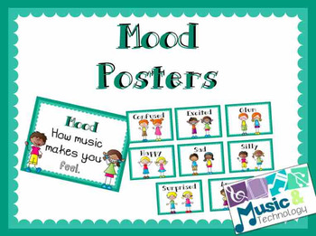 Elements of Music- Mood Posters