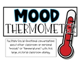 Mood / Personal Weather Thermometer - SEL classroom display