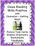 Close Reading Picture Activities - Character Setting and Mood