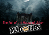 Mood Study: Poe's Fall of the House of Usher Mad Libs!