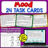 Mood Task Cards | PDF and Digital | Distance Learning