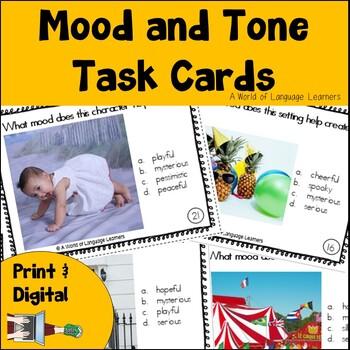Mood & Tone Task Cards