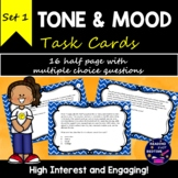 Tone and Mood Task Cards