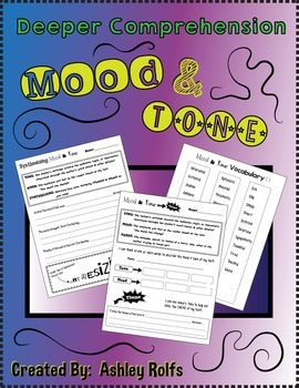 Mood & Tone-Tied in with THEME & SYNTHESIZING!
