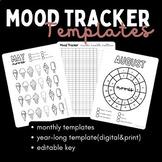 Mood Tracker   Digital and Print