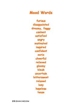 Mood Words