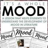 Mood Worksheet for Secondary ELA