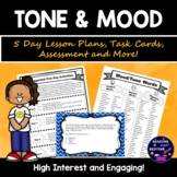 Mood and Tone 5 Day Activity Bundle