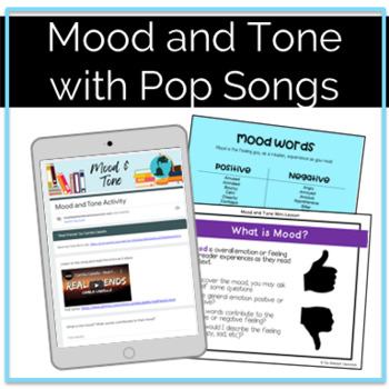Mood and Tone Resource and Activity Using Modern Songs