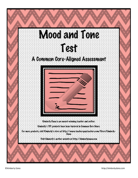 Mood and Tone Test