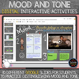 Mood and Tone: DIGITAL Interactive Activities with Google Slides