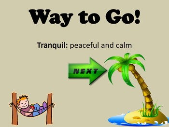 Mood and Tone Interactive Vocabulary Game